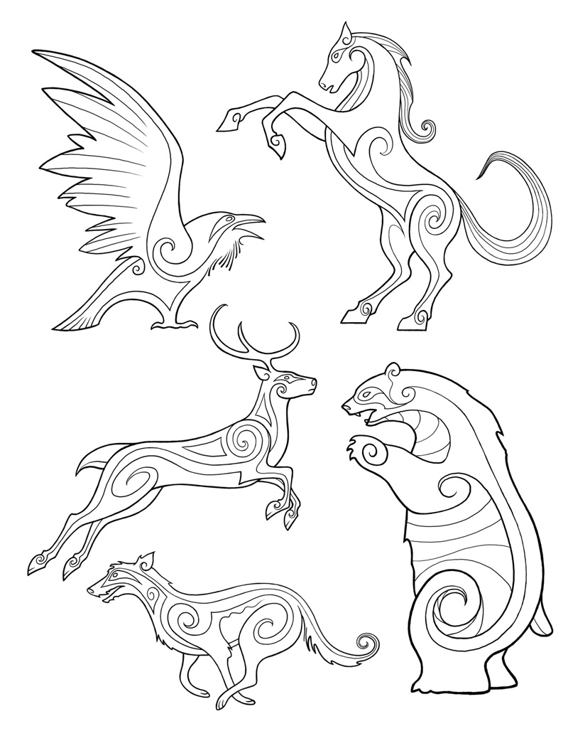clip art celtic animals - photo #22